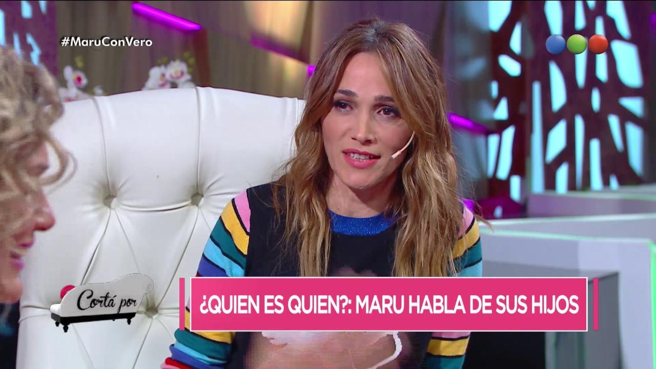 Maru Botana Hijos >> Maru Botana y juego para identificar a sus hijos - Corta Por Lozano - YouTube