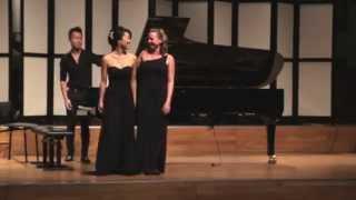 """C.  Debussy:  La Mer III  """"Dialogue du vent et de la mer"""" [Piano four hands]"""