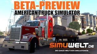 American Truck Simulator - simuwelt Beta-Preview