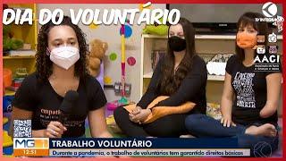 Reportagem dia do voluntário