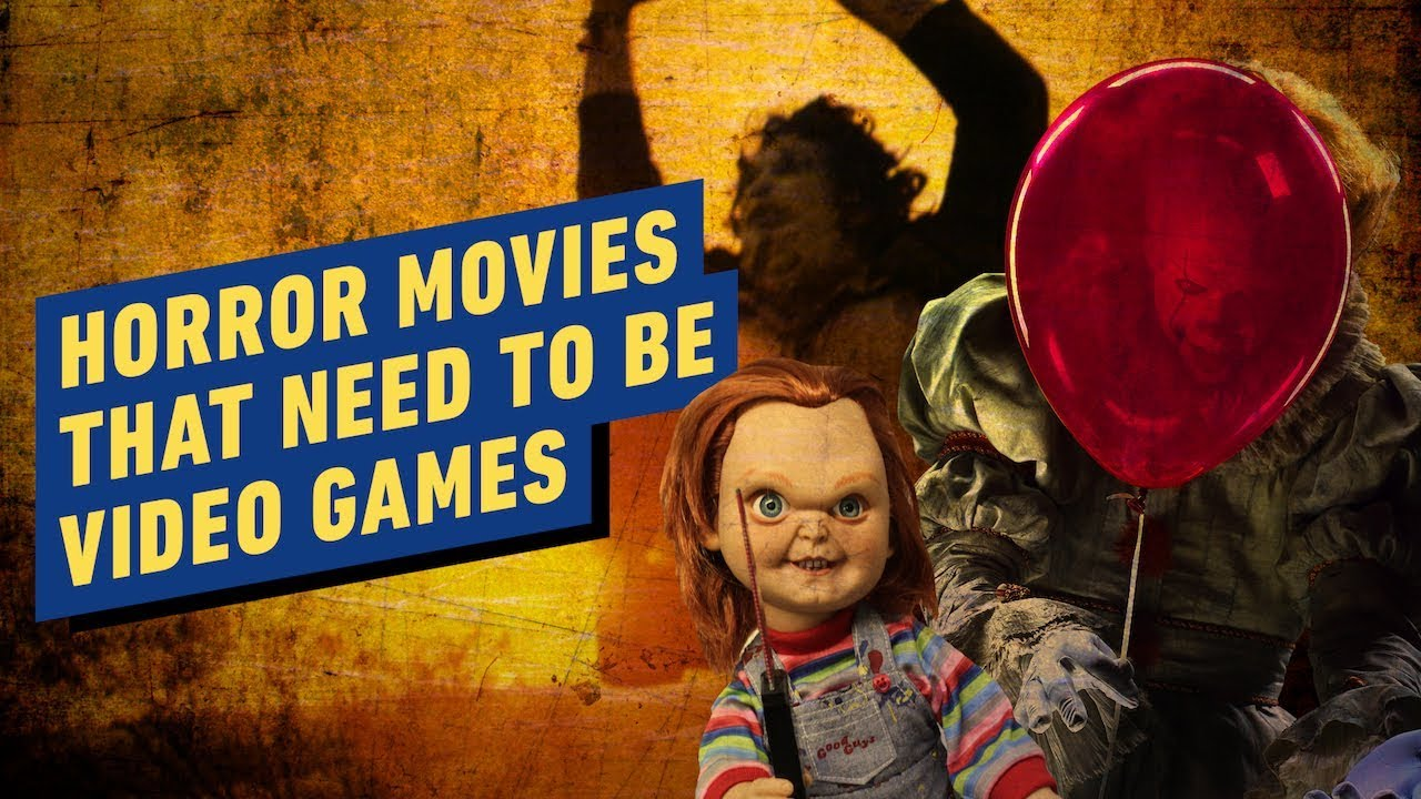 8 Horror Movies That Should Be Video Games (It, A Quiet Place & Child's Play)