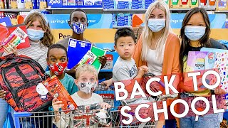 BACK TO SCHOOL SHOPPING! (Large HOMESCHOOL Family) 📚 2020