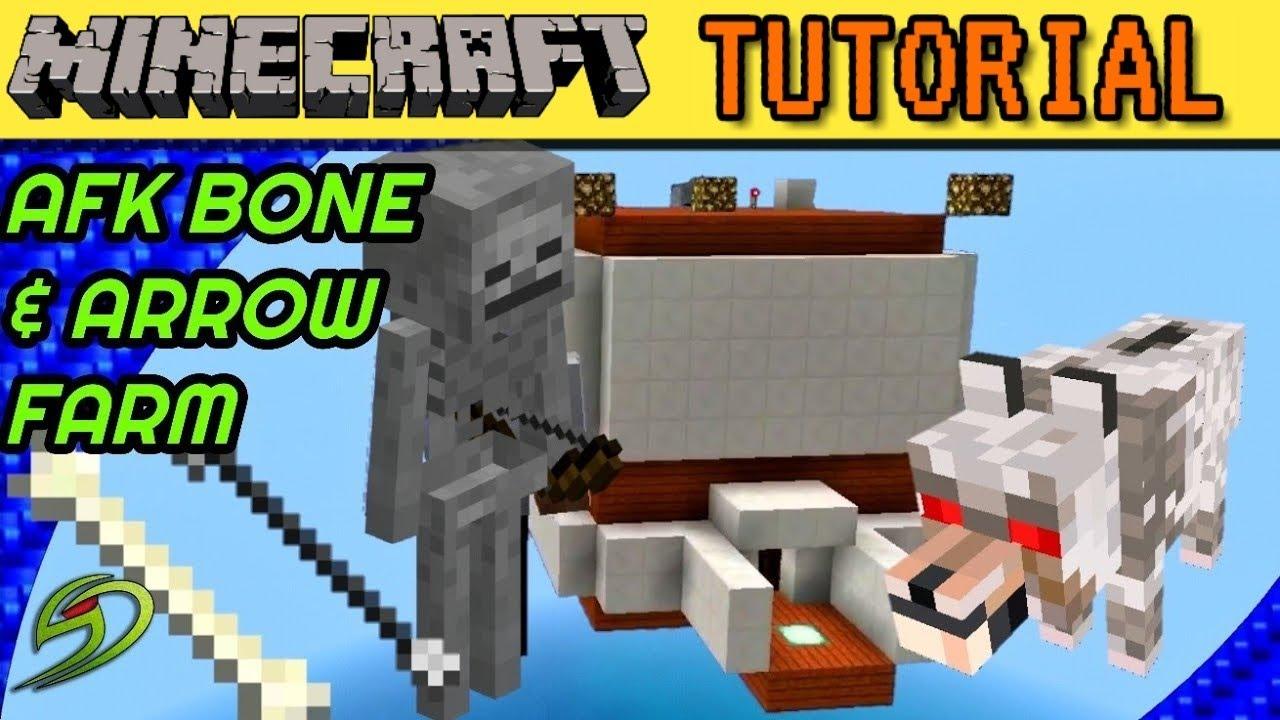 Afk Bone Farm Minecraft Tutorial Youtube