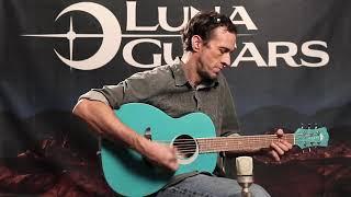 Luna Aurora Borealis Childrens Acoustic Guitar Demo
