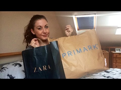 PRIMARK & ZARA HAUL   SARAH CARR