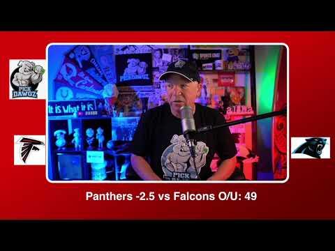 Carolina Panthers vs Atlanta Falcons NFL Pick and Prediction Thursday 10/29/20 Week 8 NFL  PickDawgz