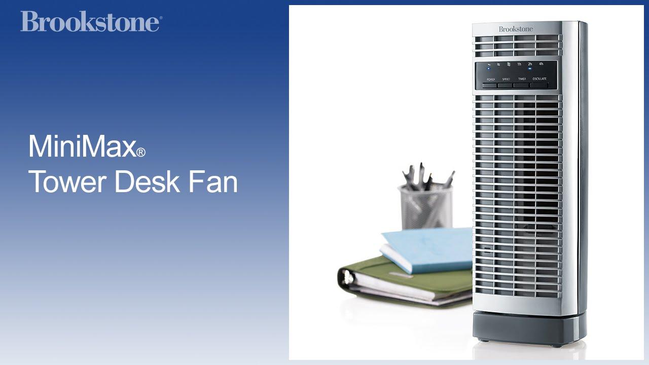 Desk Tower Fan : Minimax tower desk fan youtube