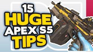 Apex Legends 15 HUGE TIPS to get INSTANTLY BETTER for Season 5 (Apex Legends Tips)