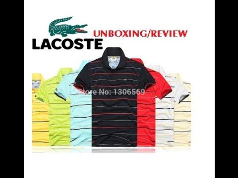 94ea79aa Ali Express Lacoste Polo Shirt - YouTube