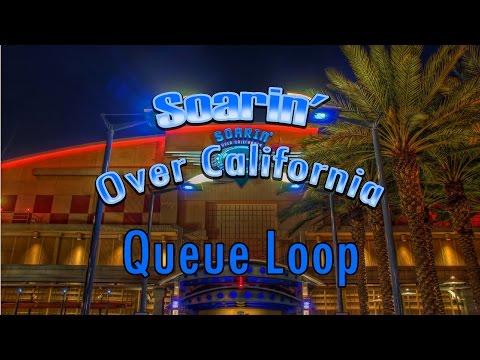 Soarin' Over California Queue Loop (Source)