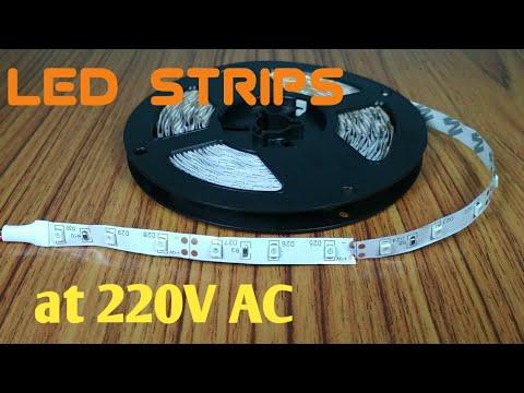 Led Strips On 220V AC