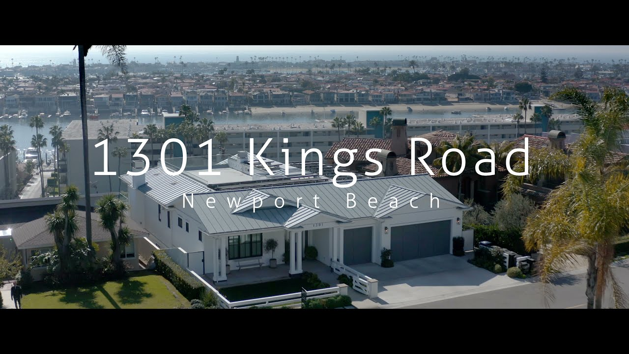 1301 Kings Road in Newport Beach, California