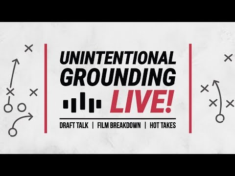 Unintentional Grounding    Falcons vs Bengals live stream ***commentary ONLY**