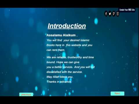 ONLINE  ISLAMIC BOOK RENTAL - Introduction to software engineering project IIUM
