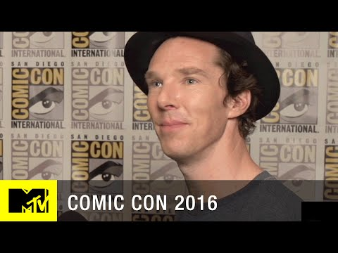 Benedict Cumberbatch Talks About Tom Hiddleston & 'Doctor Strange' | Comic Con 2016 | MTV