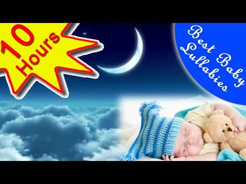 10 HRS  Baby Relaxing Music Soothing, Gentle Baby Lullaby Songs Babies To Go To Sleep At Bedtime