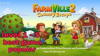 FARMVILLE 2 COUNTRY ESCAPE GAME POPULARE LEVEL 1 - 5 screenshot 3