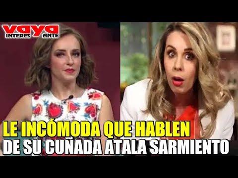 'La Choco'  Incómoda Por Comentarios Sobre Atala Sarmiento.