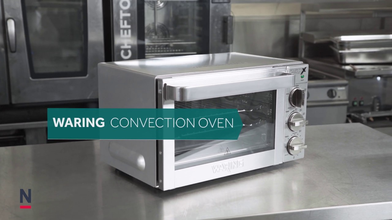 Waring Convection Oven Wco250xk Cf235 Youtube