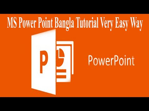 MS Power Point Bangla  Tutorial.