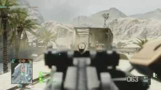 Battlefield Bad Company 2: Arica Harbor: Gameplay PS3 Beta