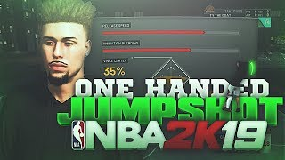 ONE HANDED JUMPSHOT GLITCHED GREENLIGHTS NBA 2K19!😱 | UGLY JUMPSHOT CHALLENGE! NBA 2K19 PLAYGROUNDS