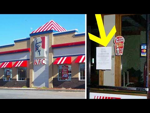 People are upset over sign KFC store posted on their doors – Restaurant refuses to take it down