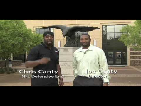 Chris Canty Camp of Champions Promo 2009 B