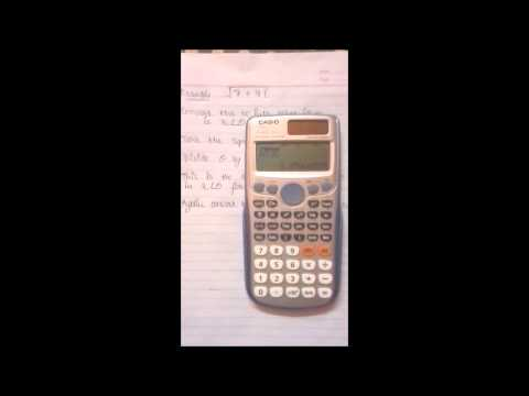 [Tutorial] How To Find The Square Root Of A Complex Number Using Casio Fx - 991es Or Es Plus