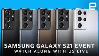Samsung Galaxy S21 event and unboxing LIVE