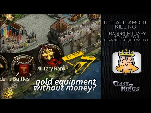 HINT - Trading The Military Honor Points - The Importance Of Killing
