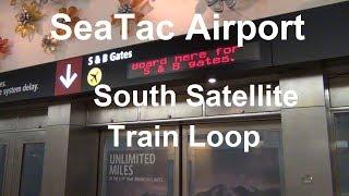 (2017) SeaTac Airport - Underground South Satellite Train Loop