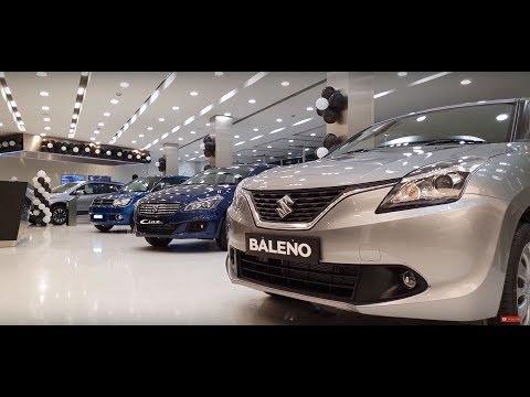 This NEXA Showroom Is Massive|Baleno,Ignis,Ciaz And S Cross|Walkaround 4K 60FPS