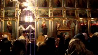 Sfantu Gheorghe, Tulcea, Patele 2012, Hristosos hrest! ucrainski iazec! in limba ucrainiana!.MPG