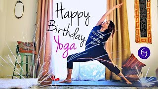 Happy Birthday Yoga (Total Body) With Fightmaster Yoga