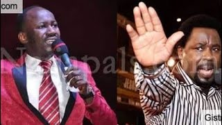 Apostle Suleiman attacks TB Joshua again!