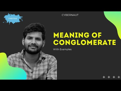 What is Conglomerate ?meaning of Conglomerate , definition, example of Conglomerate company