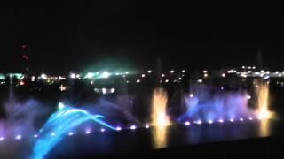 Водно-лазерное шоу AQUATIC в Сочи парке