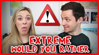 One of Spencer & Alex's most viewed videos: EXTREME WOULD YOU RATHER!!