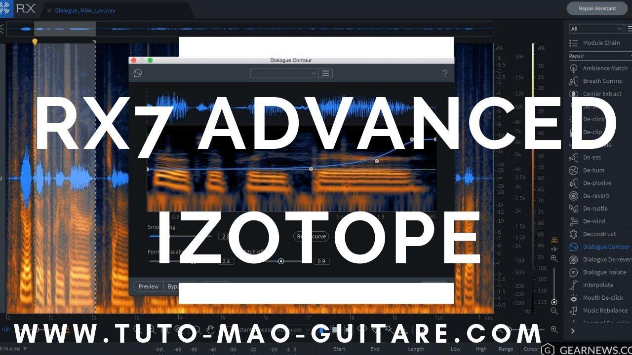 RX7 Advanced IZOTOPE [TUTO MAO GUITARE]