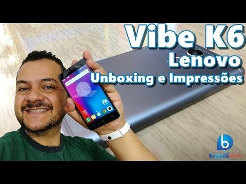 Vibe K6, da Lenovo - Conheça a versão mais barata! Unboxing e Impressões!