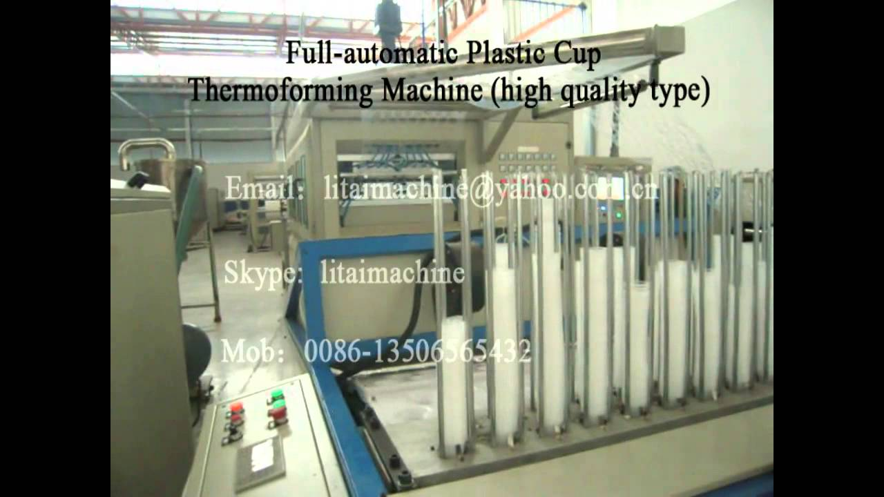 Disposable Cup Making Machine Tqc 650b Youtube