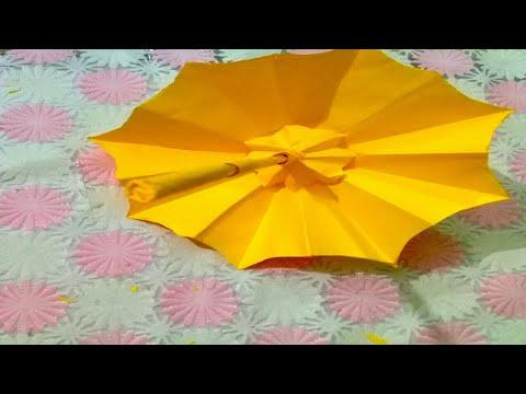 How to make Paper Umbrella/DIY Paper Umbrella  /tutorial #29