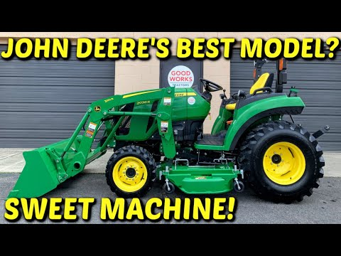 """john-deere-2038r-tractor-overview,-220r-loader,-autoconnect-60""""-mower,-covers-the-2032r-too!"""
