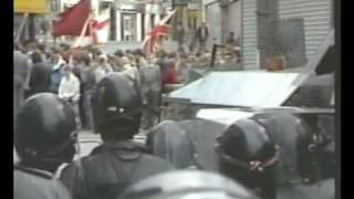 Ulster Apprentice Boys of Derry Easter Monday Portadown 1986 RIOTS Part 1