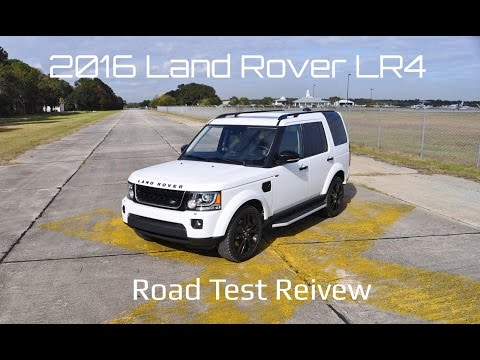 2016 Land Rover LR4 HSE Lux - HD Road Test Review