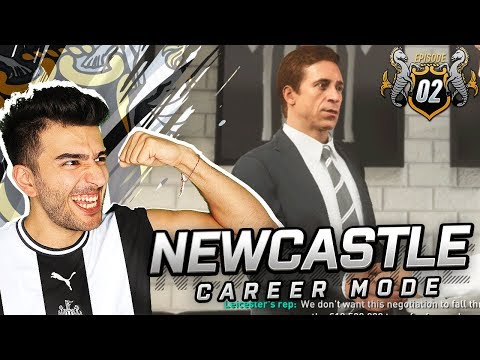 BIG PLAYER IS SNATCHED BY PREMIER LEAGUE RIVAL - FIFA 19 NEWCASTLE CAREER MODE 2
