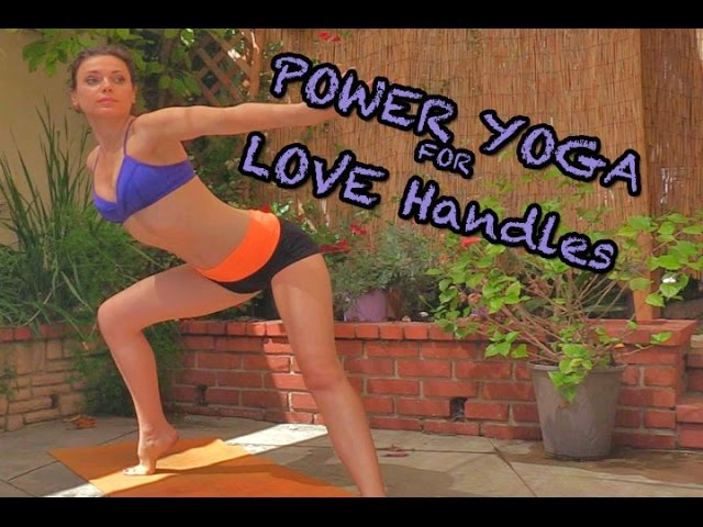Cardio Power Yoga targeting Love Handles Created by Ali Kamenova