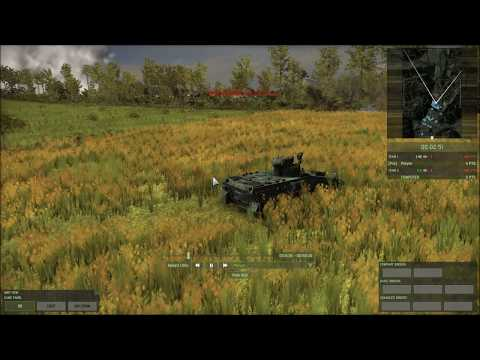 Wargame - Red Dragon - German Army vs Chinese Marine Corps