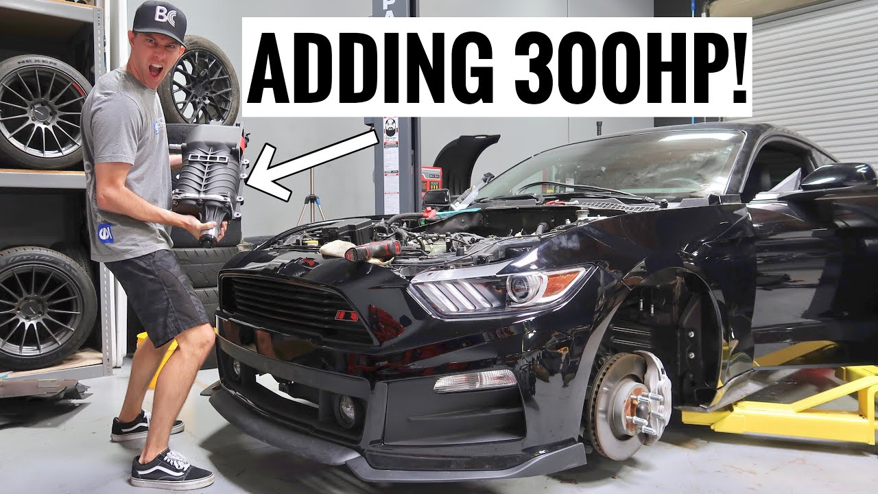 Supercharging My Mustang Gt More Power Youtube